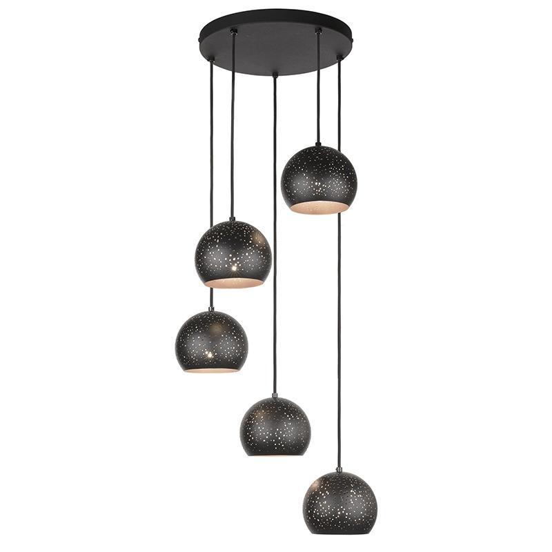 Lampa wisząca Brillo Black 2307