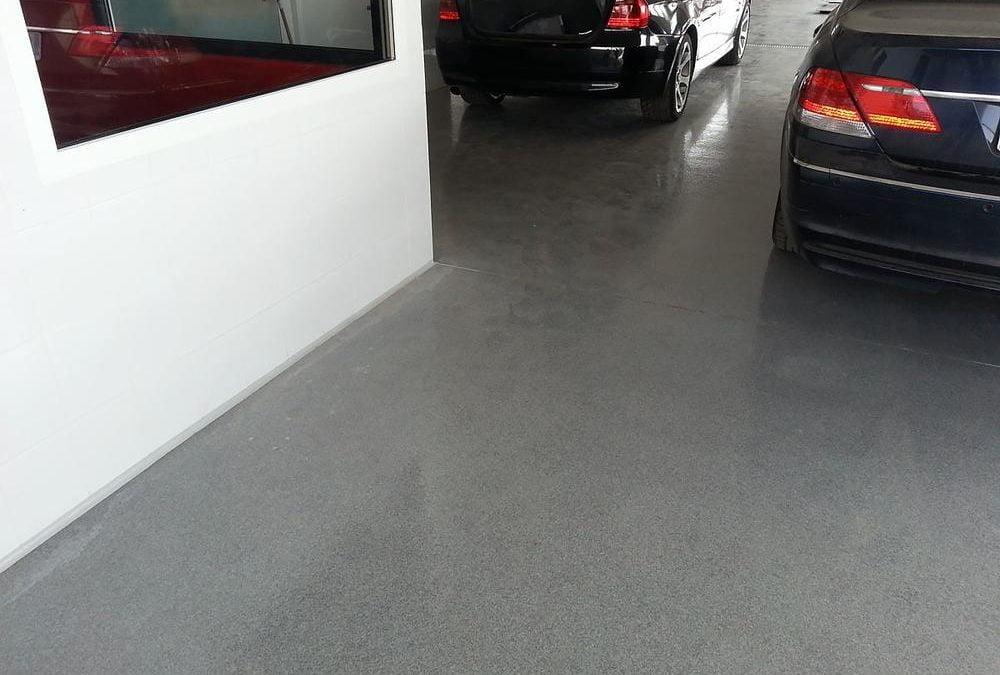 Jak wybrać posadzkę do garażu?