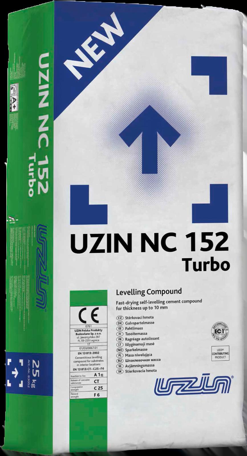UZIN NC 152 TURBO
