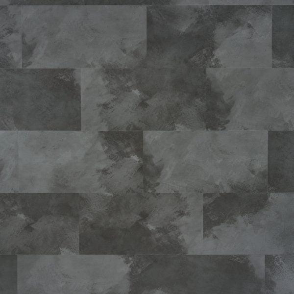 Panele winylowe na klik SPC z podkładem IXPE Bestlaminate – Kafla Ciemny Beton 1