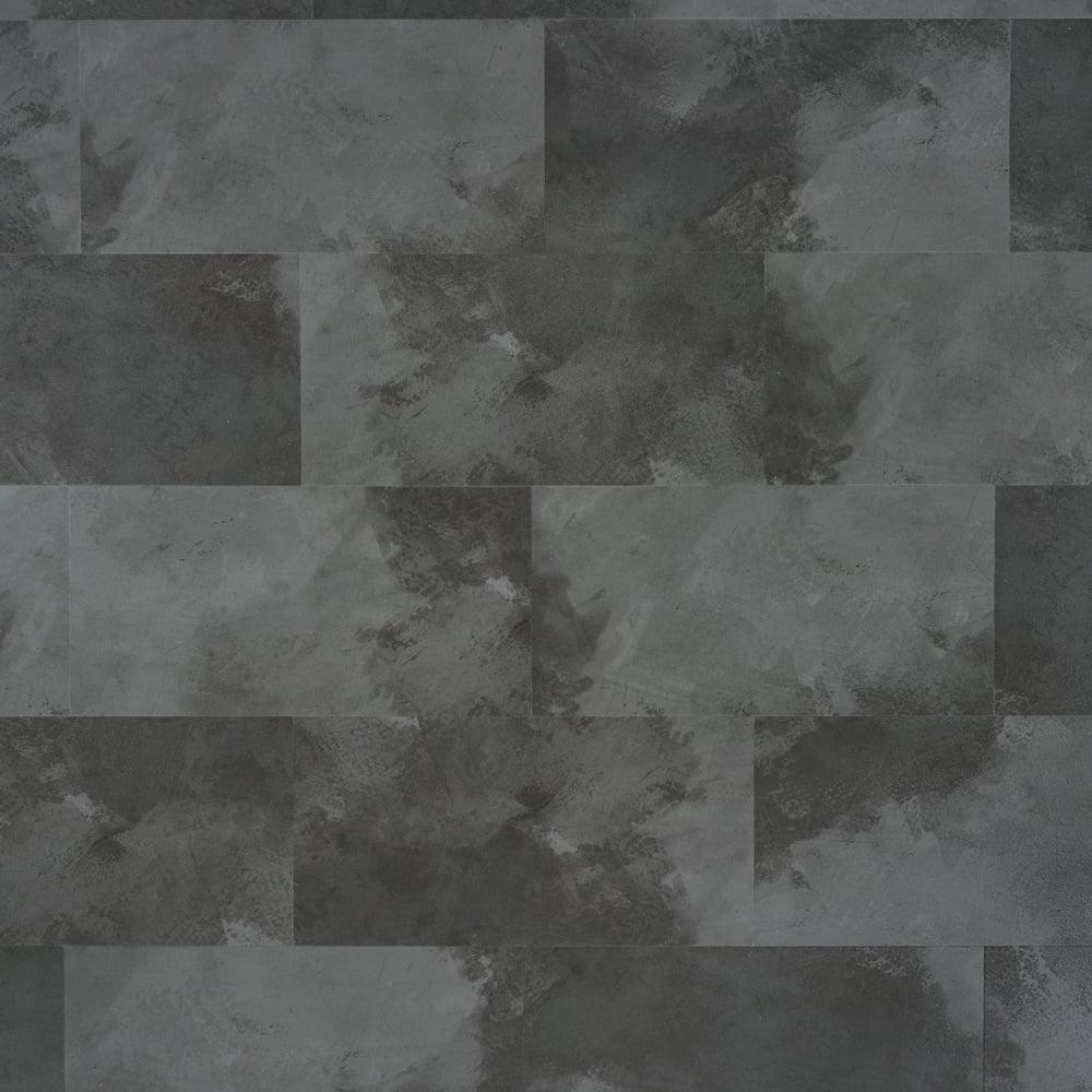 Panele winylowe na klik SPC z podkładem IXPE Bestlaminate – Kafla Ciemny Beton