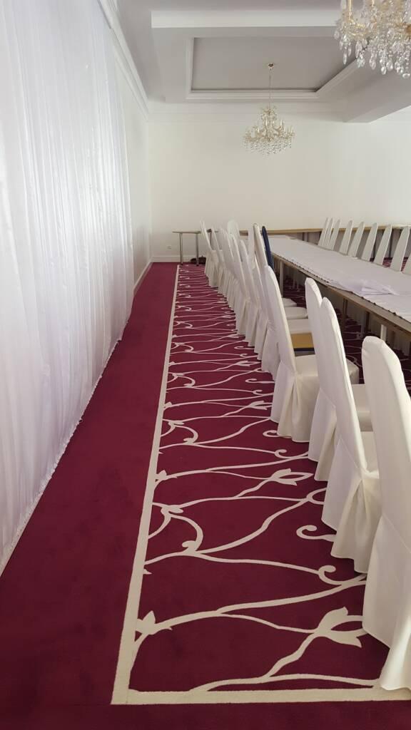 Wykładzina dywanowa w restauracji w Czarnym Lesie – wzór zaprojektowany dla klienta 3