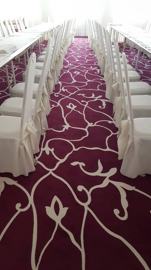 Wykładzina dywanowa w restauracji w Czarnym Lesie – wzór zaprojektowany dla klienta 5