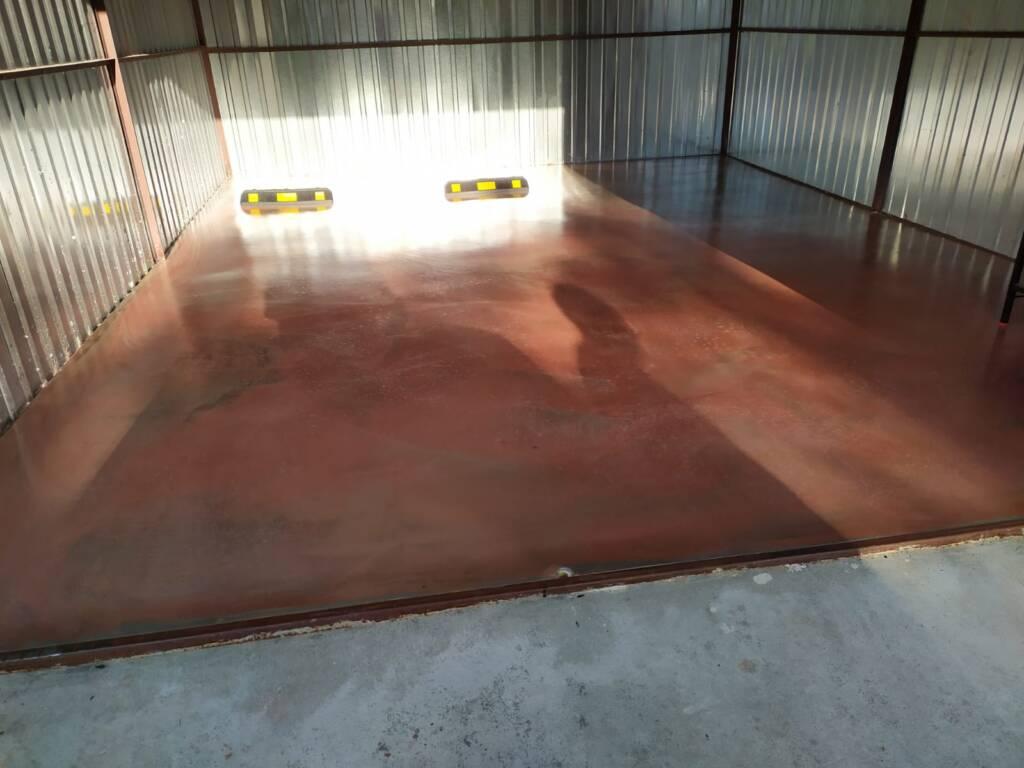 Posadzka mineralna w garażu - Olsztyn 2
