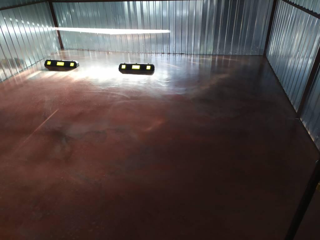 Posadzka mineralna w garażu - Olsztyn 1