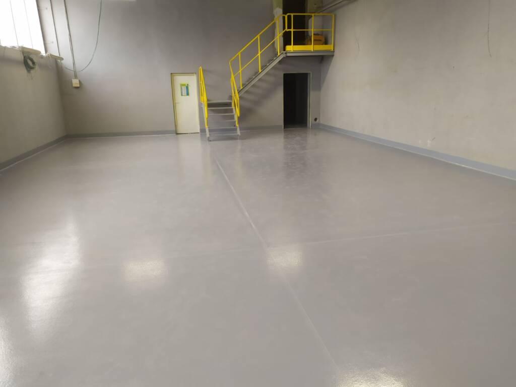 Posadzka żywiczna przemysłowa - Cementownia w Rudnikach 4
